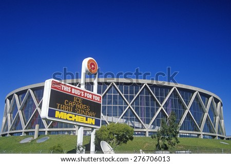 Oakland Stadium Sports Complex and Coliseum - Home of the Oakland A's, Oakland, California
