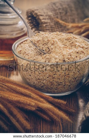 Oat flakes-Filtered Images