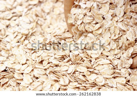 oat-flakes textured background