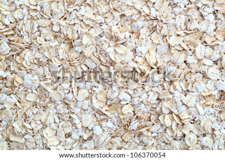 oatmeal background - stock photo