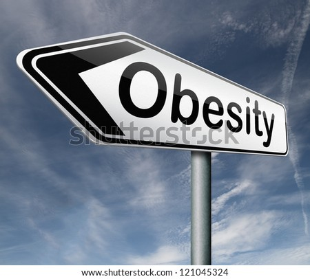 obesity obese man women child kid or children overweight and fat people risk diabetes - stock photo