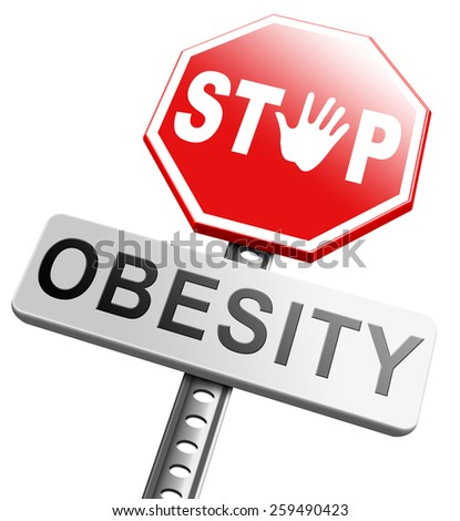 Stop Over Eating Disorders Clip Art