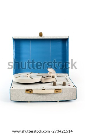 object vintage music - stock photo