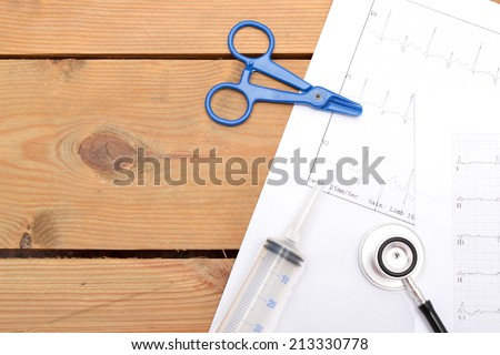 Objects of Medicine - stock photo