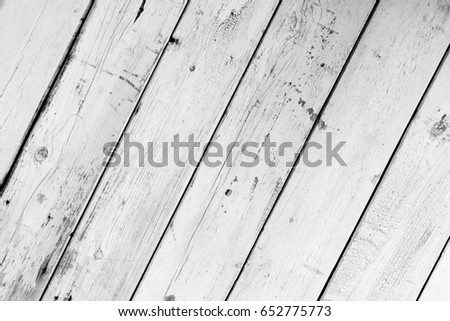 Oblique background of white wooden boards