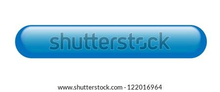 Oblonged web button isolated lozenge shaped - stock photo