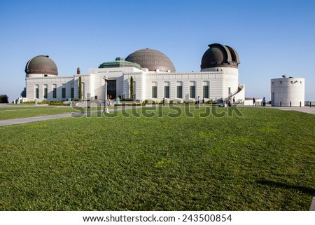 Observatory Los Angeles - stock photo