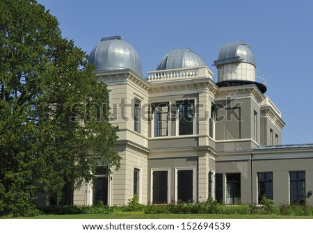 Observatory of the Leiden University in the Netherlands