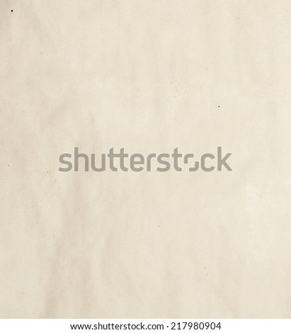 obsolete sheet of paper for background - stock photo