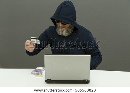 Obtaining money by means of a computer. Tools hacker attack.