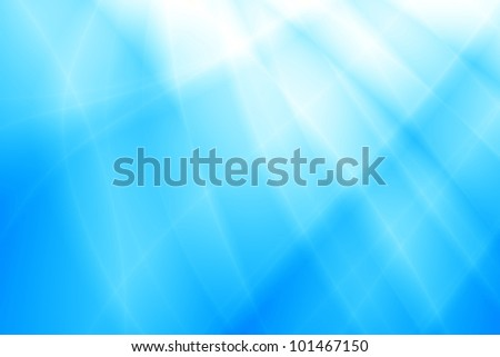 Ocean abstract blue background - stock photo