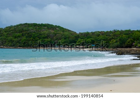 Ocean at Koh Samet, Thailand - stock photo