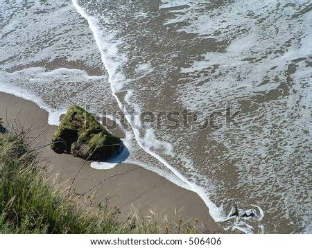 Ocean beach - stock photo