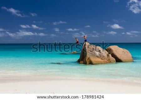 Ocean Beach, paradise - stock photo