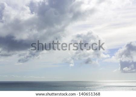 Ocean Coast in Maspalomas - stock photo