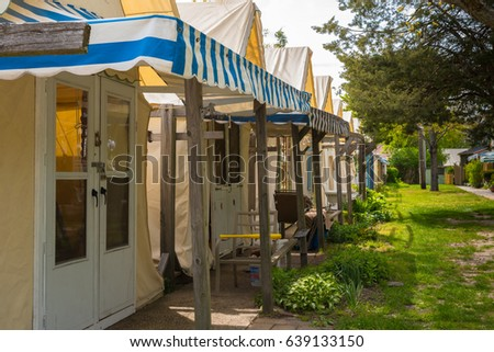 Ocean Grove NJ USA -- May 12 2017 -- Tent houses are & Ocean Grove Nj Stock Images Royalty-Free Images u0026 Vectors ...