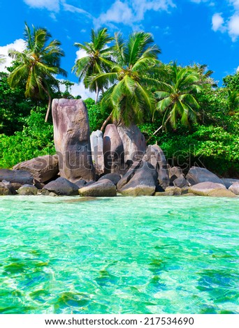 Ocean Season Exotic  - stock photo