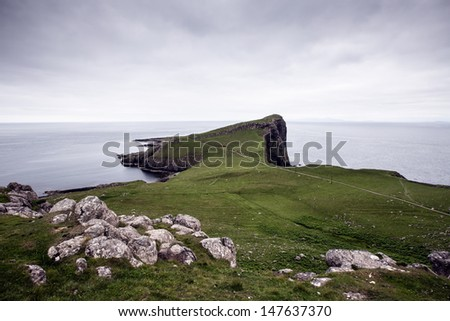 Ocean View at Neist Point, Isle Of Skye, Scotland