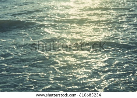 ocean water and sunlight  background