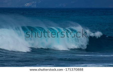 Ocean wave, Atlantic, Canary Islands