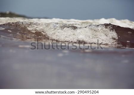 ocean waves - stock photo