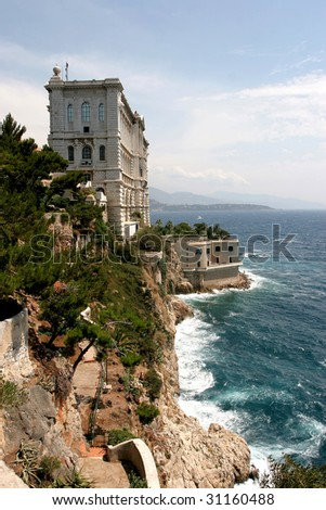 Oceanographic Museum & Aquarium in Monaco