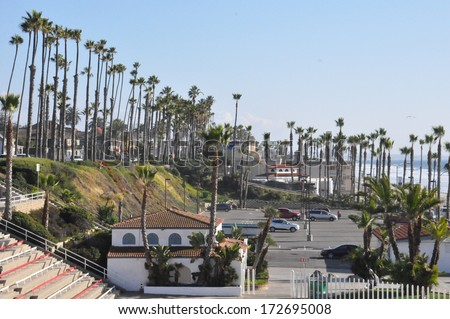 Oceanside in Southern California (USA) - stock photo