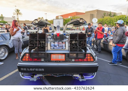 OCT 25, California: Back to Future Anniversary on OCT 25, 2015 at Twin Pines Mall, California