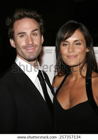 """October 10, 2006. Joseph Fiennes attends the World Premiere of """"Running with Scissors"""" held at the Academy of Motion Picture Arts and Sciences in Beverly Hills, California United States. - stock photo"""