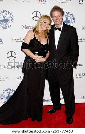October 25, 2008. Kathy Hilton at the 30th Anniversary Carousel Of Hope Ball held at the Beverly Hilton Hotel, Beverly Hills.  - stock photo
