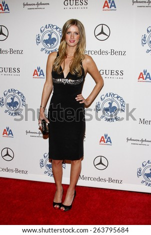 October 25, 2008. Nicky Hilton at the 30th Anniversary Carousel Of Hope Ball held at the Beverly Hilton Hotel, Beverly Hills.  - stock photo