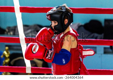 odessa ukraine april 26 2015 cup ukraine on thai boxing among children
