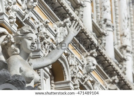 ODESSA, UKRAINE - AUGUST 02, 2016: Passage is the historical building and the first luxury shopping mall in the city, on August 02 in Odessa.