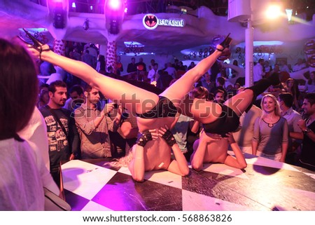 Hight club sex