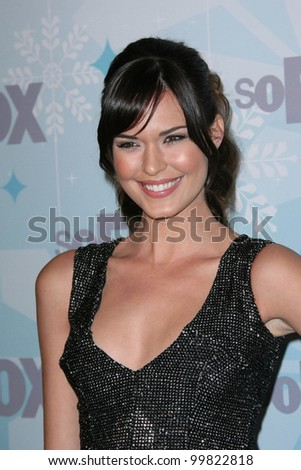 Odette Yustman at the 2011 FOX Winter All-Star Party, Villa Sorriso, Pasadena, CA. 01-11-11