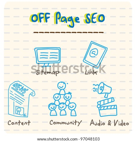Off Page SEO - stock photo
