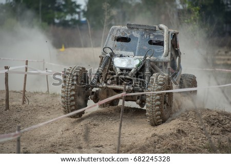 off road car racing