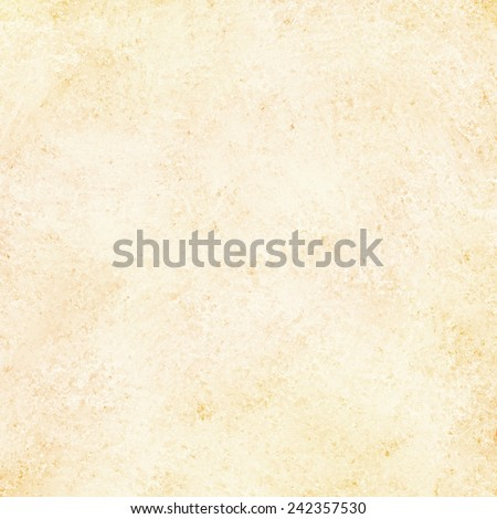off white background with yellow undertones and vintage grunge background texture, old paper layout - stock photo