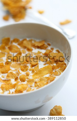 offering gluten-free breakfast - stock photo
