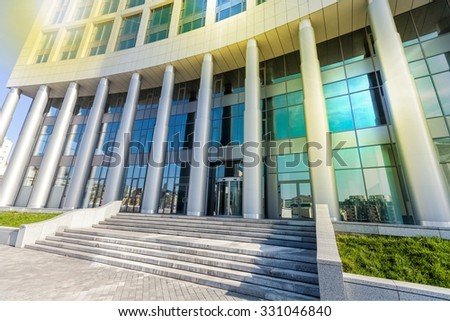 Office Building. - stock photo