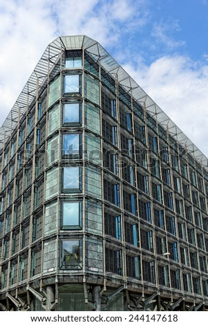 Office building in the City of London. - stock photo
