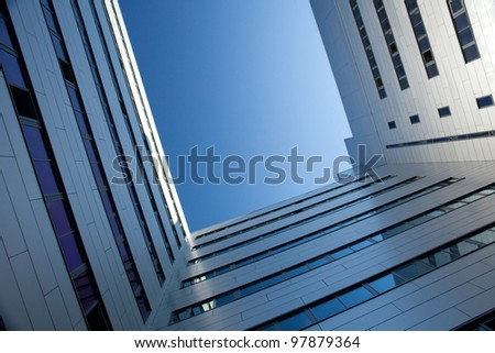 Office Building of technopark in Saint-Petersburg, Russia - stock photo