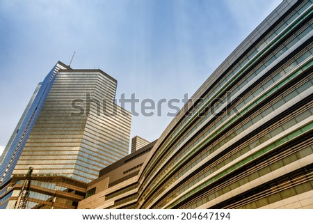 Office building style - stock photo