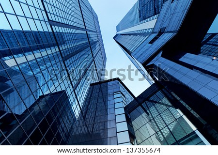 office buildings - stock photo