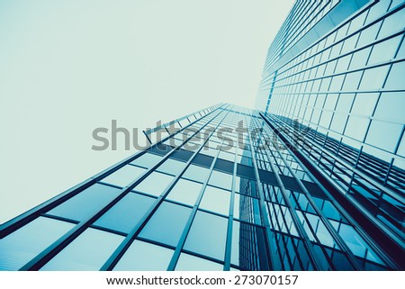 office buildings.  Skyscraper
