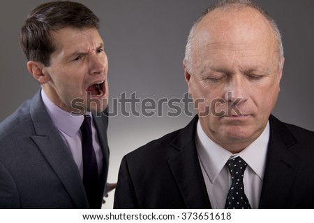 Office Bully - stock photo