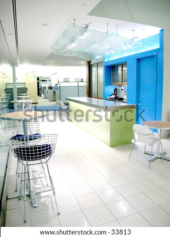 Office cafeteria 3 (1 of 3 Photo) - stock photo