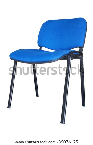 Office chair. Isolated on white background with clipping path.