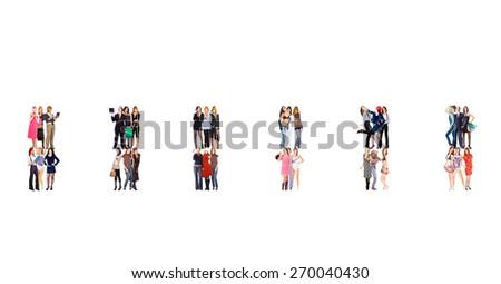 Office Culture Achievement Idea  - stock photo