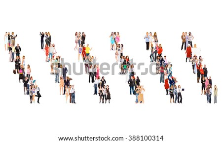Office Culture Business Picture  - stock photo